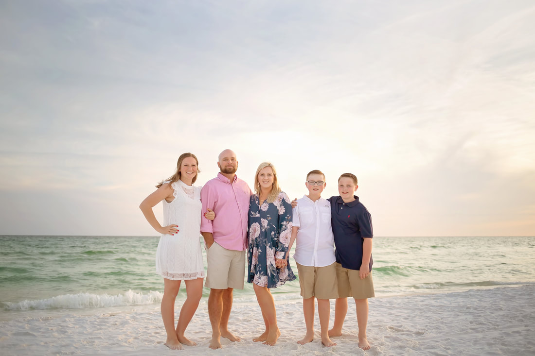 30A Family Portrait Beach Picture